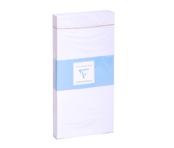 TRIOMPHE 25 ENVELOPE DL 4.25X8.75 WHITE