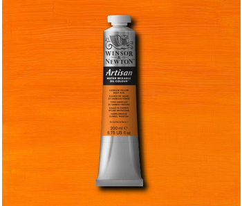 W&N ARTISAN OIL 200ML CADMIUM YELLOW DEEP HUE