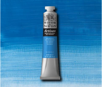 W&N ARTISAN OIL 200ML CERULEAN BLUE