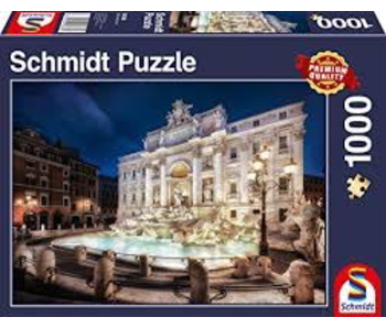 Schmidt Puzzle 1000 Trevi Fountain Rome