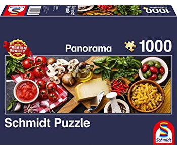 Schmidt Puzzle 1000 Italian Cooking Panoramic