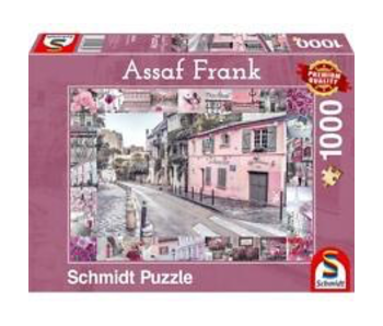 Schmidt Puzzle 1000 Romantic Journey