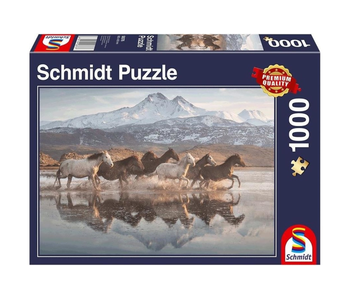 Schmidt Puzzle 1000 Horses in Cappadoica