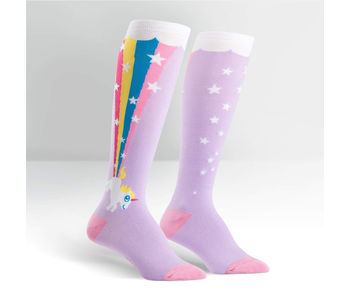 Sock It To Me : Knee High Funky: Rainbow Blast
