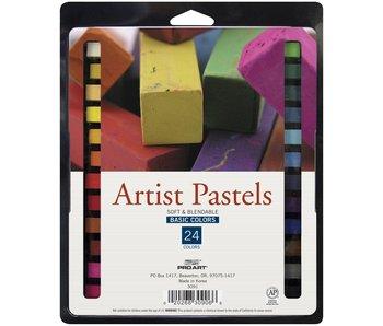Square Artist Pastel 24 Color Set