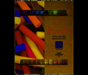 Proart Oil Pastel Set 24 Color Set