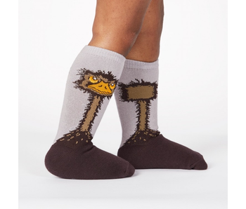 SOCK IT TO ME TODDLER KNEE HIGH OSTRICH