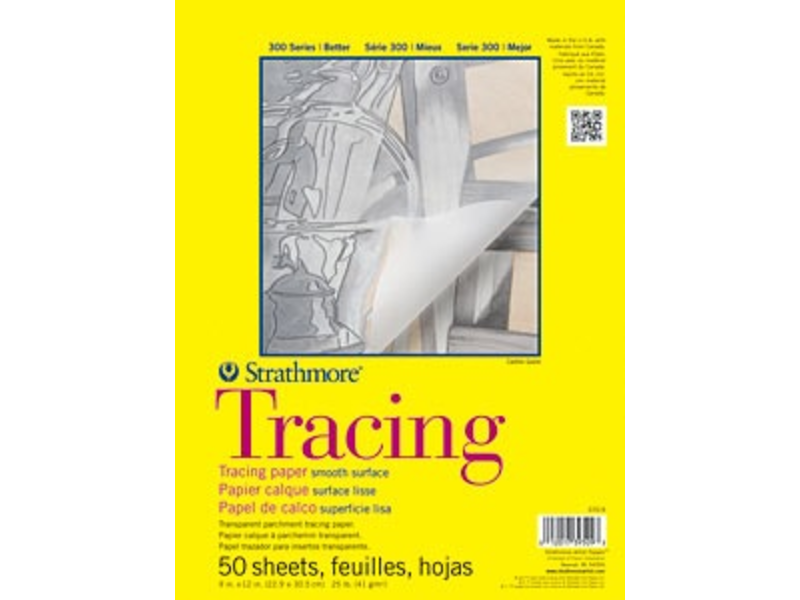 STRATHMORE TRACING PAD 11x14 50 SHEETS