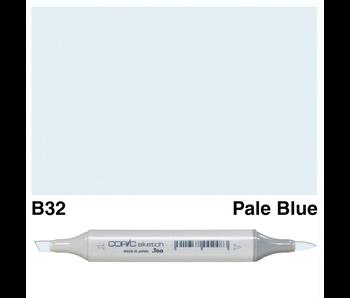COPIC SKETCH B32 PALE BLUE