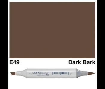 COPIC SKETCH E49 DARK BARK