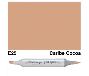COPIC SKETCH E25 CARIBE COCOA