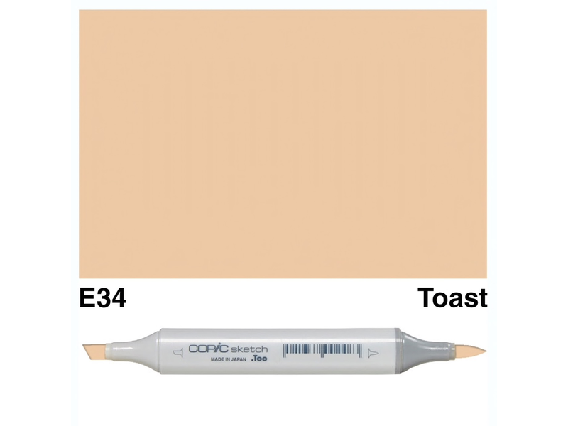 Copic Sketch E34 Toast Endeavours And Thinkplay