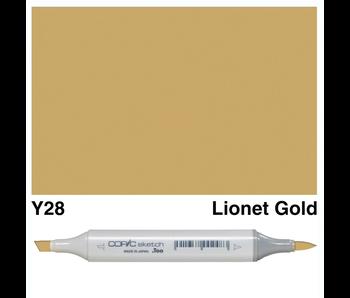 COPIC SKETCH Y28 LIONET GOLD