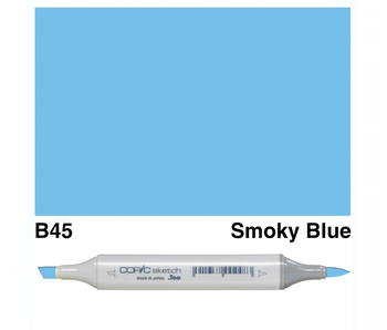 COPIC SKETCH B45 SMOKY BLUE
