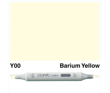 COPIC CIAO Y00 BARIUM YELLOW
