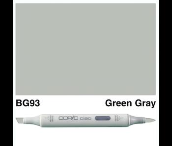 COPIC CIAO BG93 GREEN GRAY