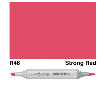 COPIC SKETCH R46 STRONG RED