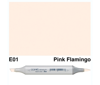 COPIC SKETCH E01 PINK FLAMINGO