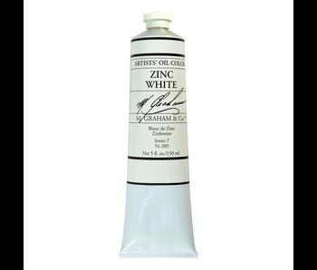 M. GRAHAM ARTIST OIL 150ML ZINC WHITE