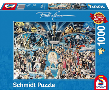 Schmidt Puzzle: 1000 Piece Hollywood