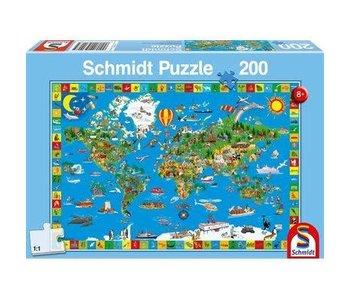 Schmidt Puzzle: Child 200 Piece Your Amazing World