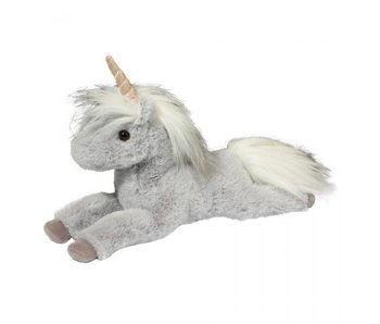 Douglas Cuddle Toy Plush Mia Gray Unicorn
