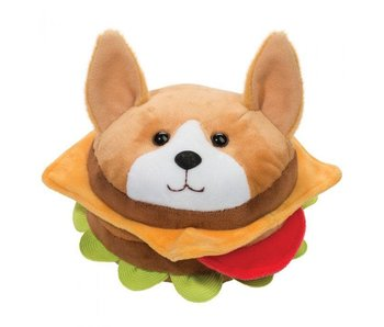 Douglas Cuddle Toy Plush Burger Dog Macaroon