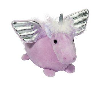Douglas Cuddle Toy Plush Winged Unicorn Macaroon