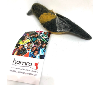 Hamro Village Felt Baltimore Oriole Hanging