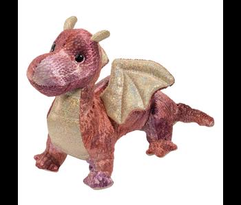 Douglas Cuddle Toy Plush Kayda Purple Dragon