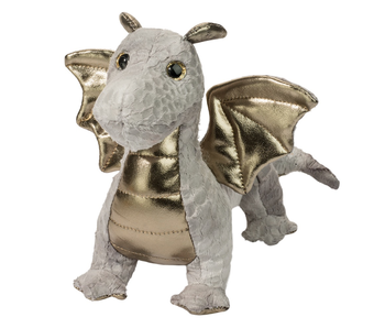 Douglas Cuddle Toy Plush Hydra Silver Dragon