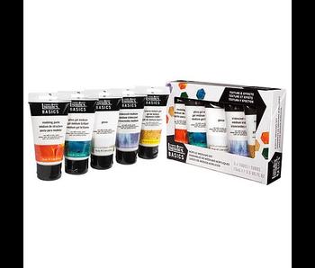 Liquitex Acrylic Basics MEDIUMS STARTER SET