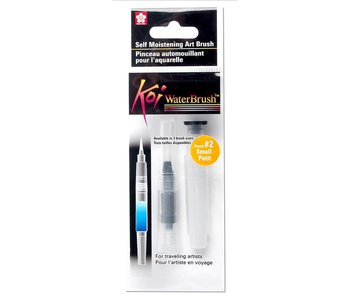KOI WATER BRUSH SELF MOISTENING AIR BRUSH #2 SMALL ROUND