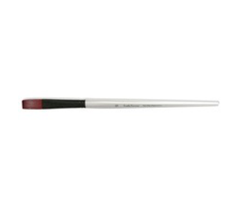 SIMPLY SIMMONS SYNTHETIC BRUSH LH STIFF FLAT 10