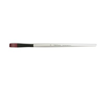 SIMPLY SIMMONS SYNTHETIC BRUSH LH STIFF FLAT 8