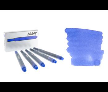 LAMY CALLIGRAPHY INK CARTRIDGE 5PK BLUE