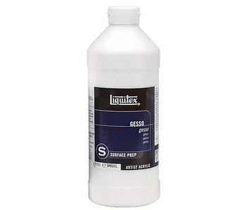 Liquitex White Gesso - 473ml (16 oz)