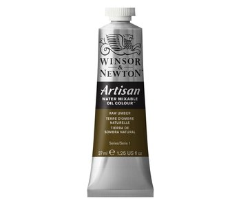 Winsor Newton Artisan Watermixable Oil 37ML RAW UMBER
