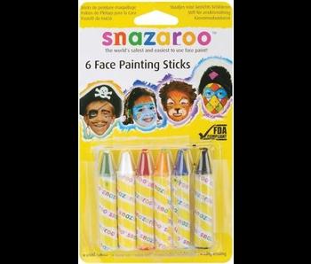 SNAZAROO FACE PAINTING STICKS UNISEX