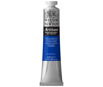 W&N ARTISAN OIL 200ML FRENCH ULTRAMARINE BLUE