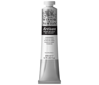 W&N ARTISAN OIL 200ML TITANIUM WHITE