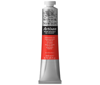 W&N ARTISAN OIL 200ML CADMIUM RED HUE
