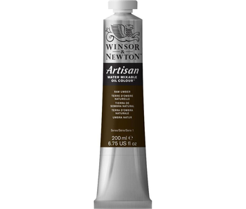 W&N ARTISAN OIL 200ML RAW UMBER