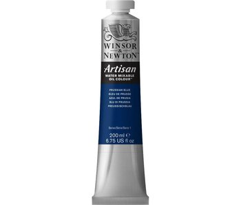 Winsor Newton Artisan Watermixable Oil 200ML Prussian Blue