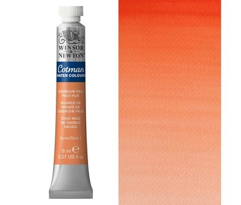COTMAN WATERCOLOUR 8ML CADMIUM RED PALE HUE