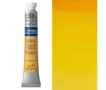 COTMAN WATERCOLOUR 8ML CADMIUM YELLOW HUE