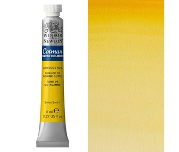 COTMAN WATERCOLOUR 8ML GAMBOGE HUE