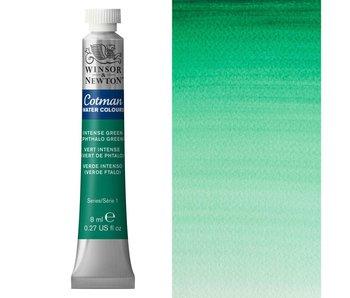 Cotman Watercolors 8Ml Tube Intense (Phthalo) Green