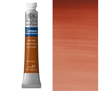 COTMAN WATERCOLOUR 8ML LIGHT RED