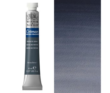 COTMAN WATERCOLOUR 8ML PAYNE'S GRAY